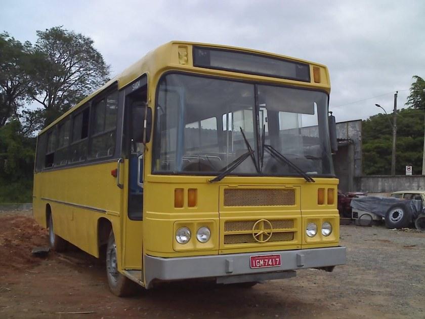 1985 MB 1313 ÔNIBUS Incasel Cisne