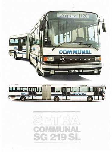 1985 SETRA SG219SL Communal