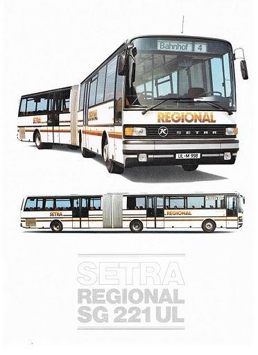1985 SETRA SG221UL Regional