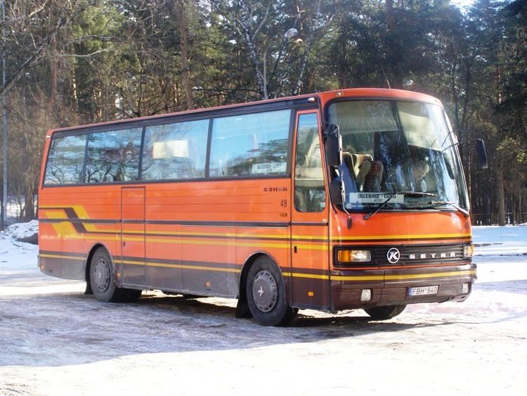 1986 Kassbohrer Setra S211HD Litouwen