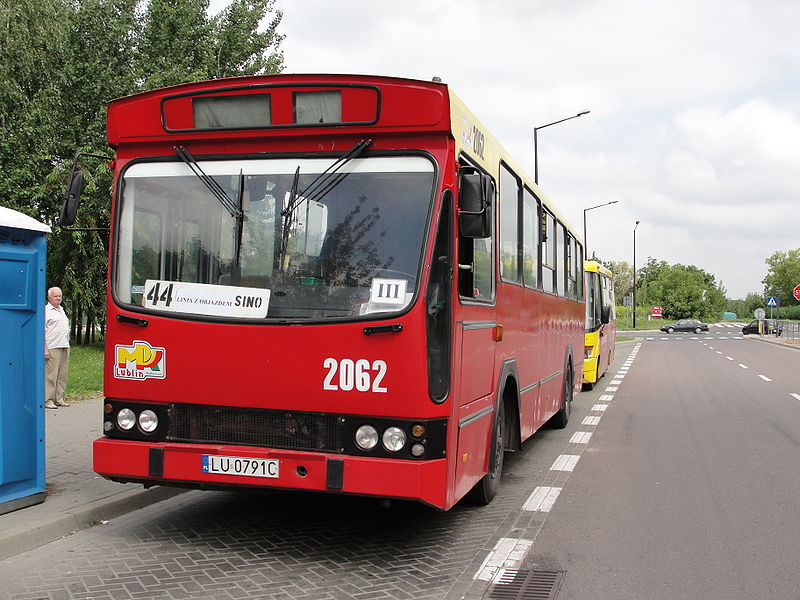 1988 Jelcz M11 z 1985-90
