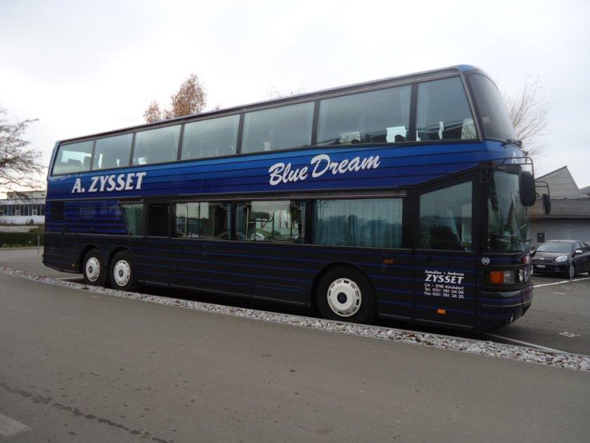 1988 Setra S 228 DT bleu