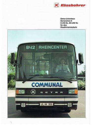 1988 SETRA S215SL,SG219SL