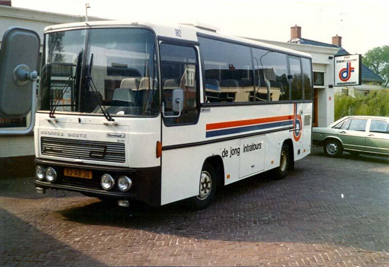 1990 128 ESA 182 arch JHarmsen 182 Magirus Deutz M130-R81 Jonckheere
