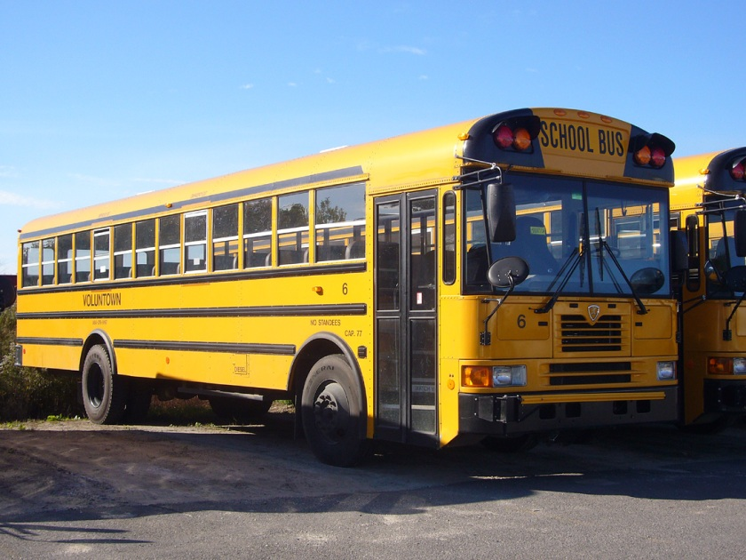 1990 International 3900 IC-FE-school-bus-Voluntown