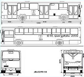 1993 Jelcz pr110