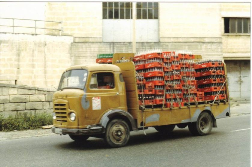 1994 Dodge cold carrier Coca Cola on Malta