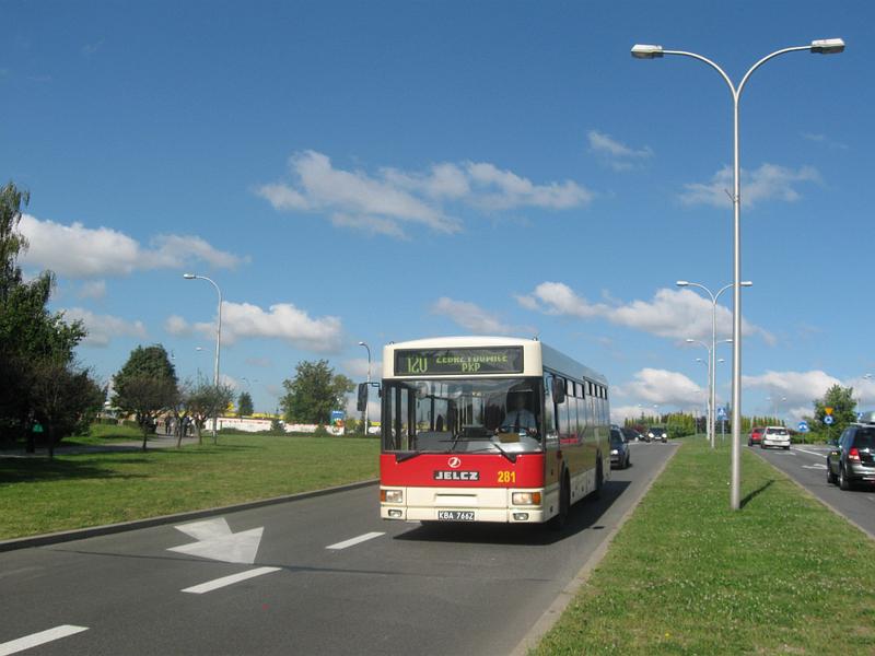 1995-04 Jelcz M121M w Jastrzębiu-Zdroju