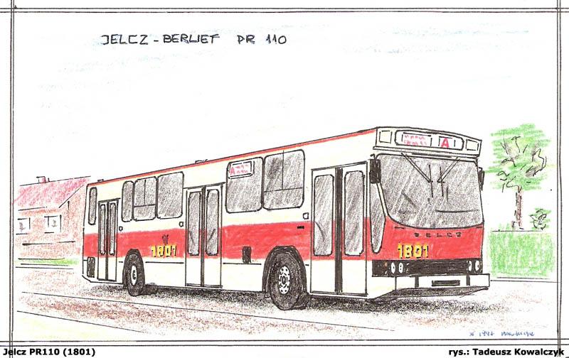 1995 Jelcz PR110 rysunek 5