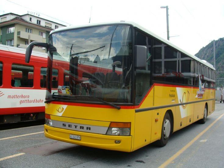 1996 Setra Postauto Bus Setra, Mountain Version