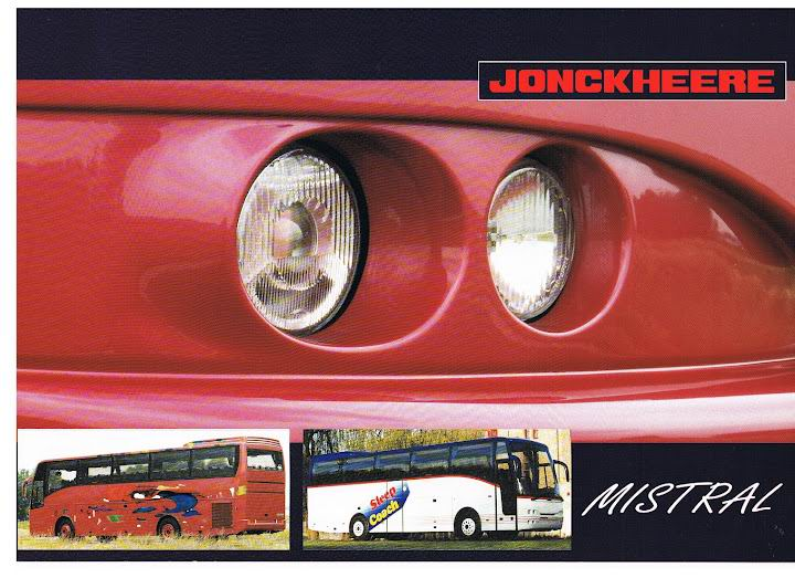 1997 JONCKHEERE Mistral (Car&Bus)