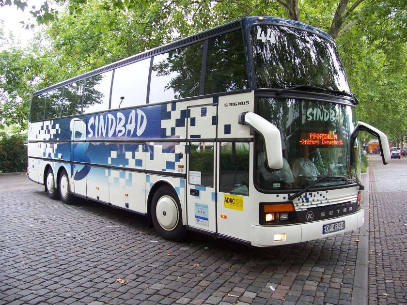1997 Setra S 316 HDS in Mannheim