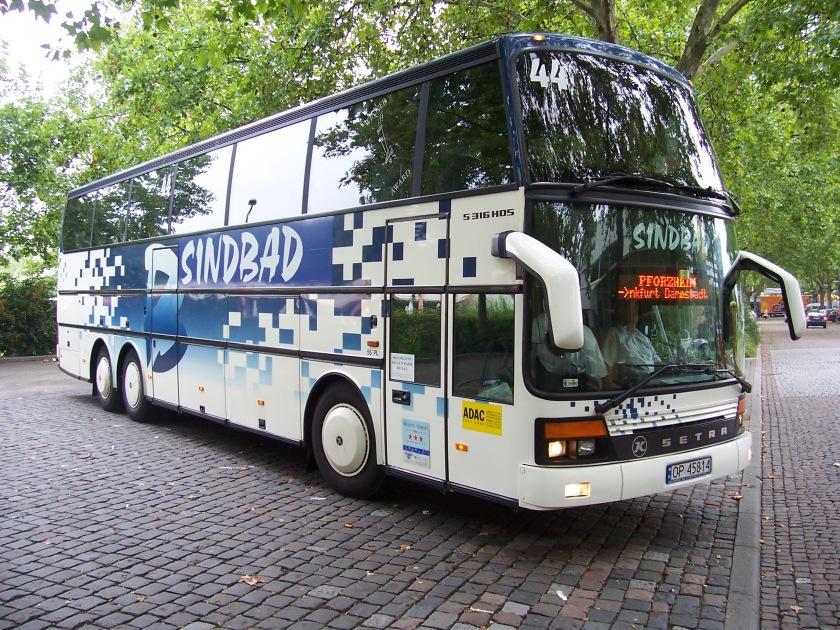 1997 Setra S 316 HDS in Mannheim