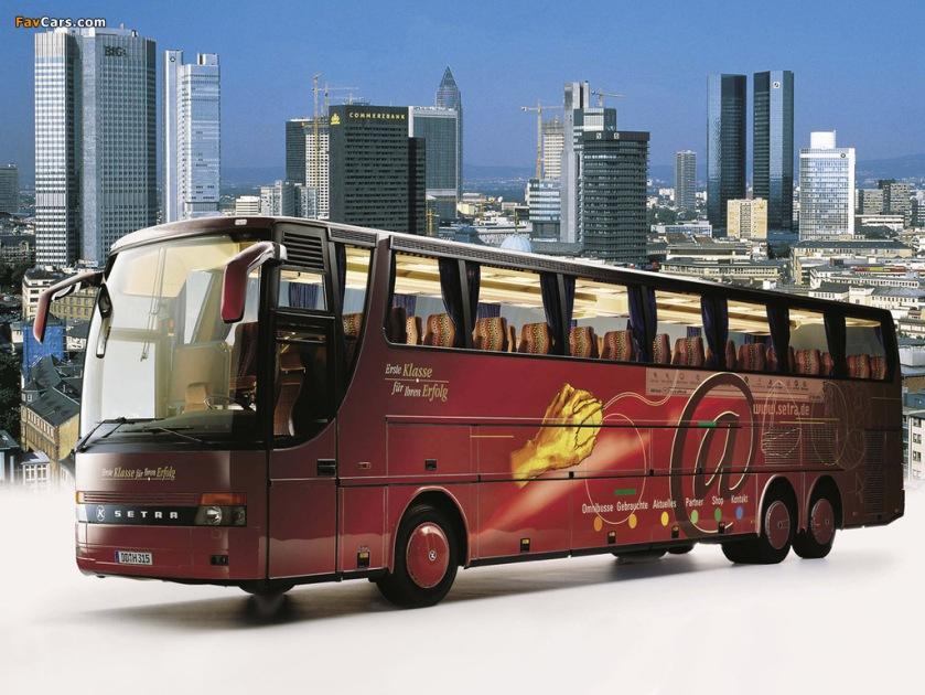 1997–02 Setra S317 HDH-3 1997–2002
