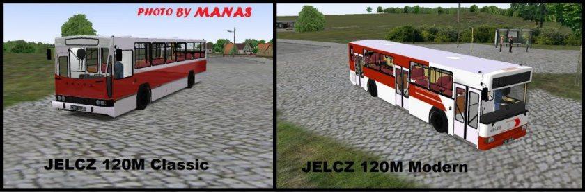 2001 Jelcz 120 oud en nieuw