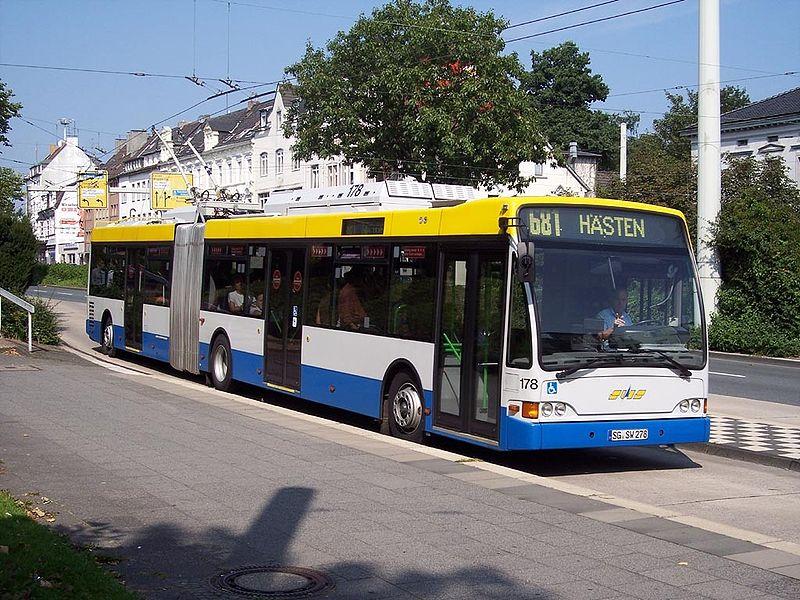 2002 Premier-Solingen Berkhof Trolley