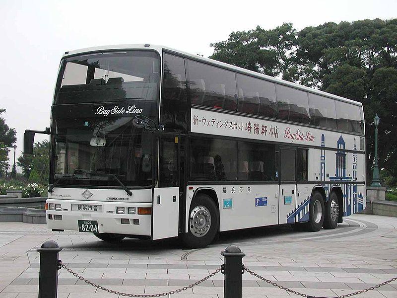 2002 Stadsbus van Yokohama Jonckheere Monaco