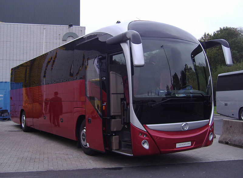 2007 Irisbus Magelys at the Busworld exhibition in Kortrijk, Belgium