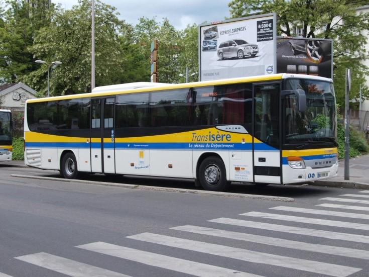 2007 Setra bus, Transisere Public transportation Lion