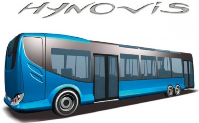 2008 HYNOVIS PROTOTYPE HYBRID HYDRAULIC BUS FROM IRISBUS