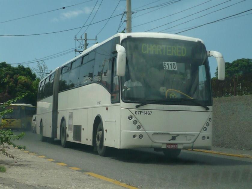 2008 Jamaica-Volvo VDL Jonckheere Articulated Bus