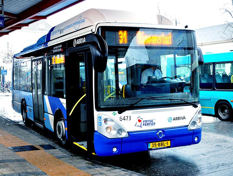 2011 irisbus Citelis 10,5m CNG van Arriva