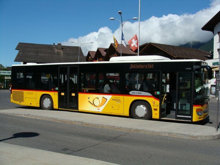 2011 Postauto Bus Setra