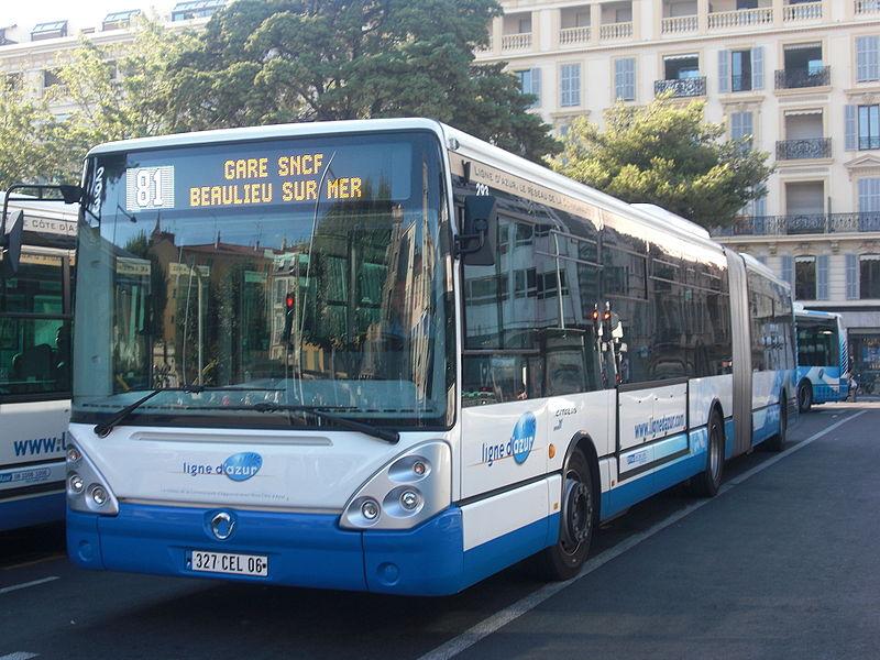 2012 Irisbus Citelis 18m diesel van Ligne d'azur