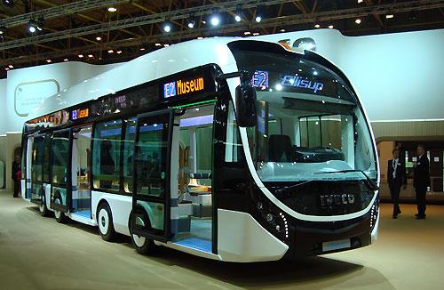 2013 Iveco Bus Ellisup met elektro motoren in de wielen