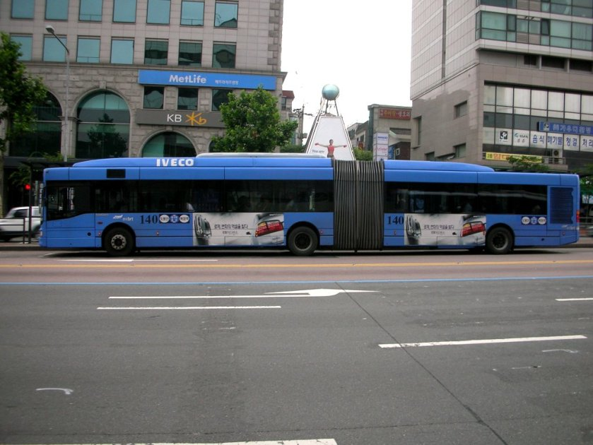 bus iveco CityClass 18m
