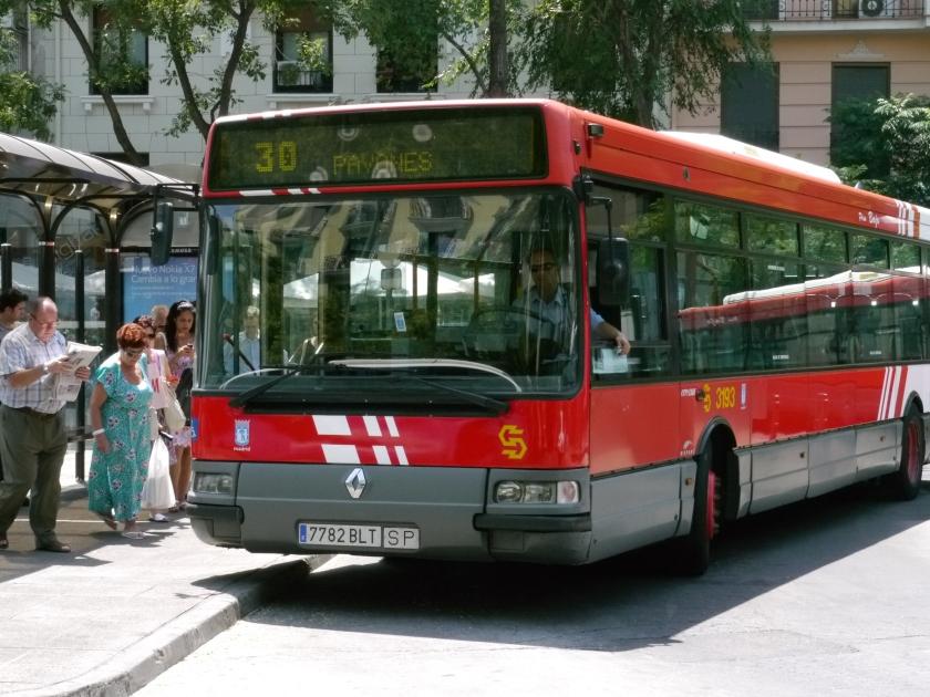 EMT Renault Agora Line 30