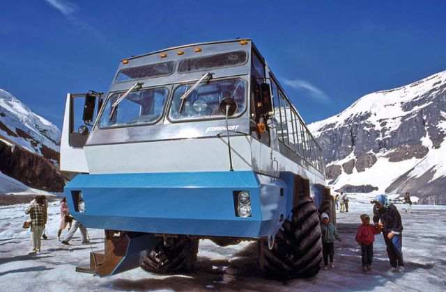Foremost icefield Bombardier