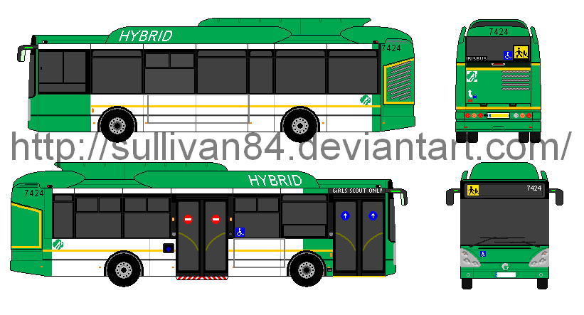 Irisbus Scout Girls Hybrid