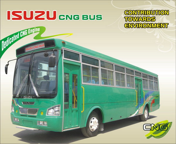 ISUZU CNG BUS, The Perfect Partner