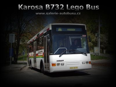 Karosa B732 Lego Bus wallpaper