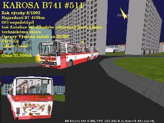 Karosa B741 146001