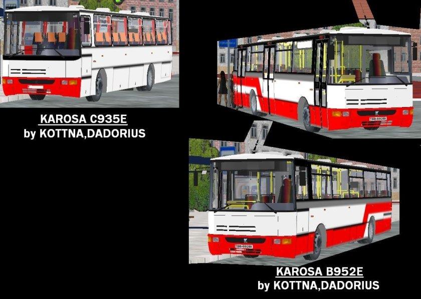 Karosa C935E  + Karosa B952E