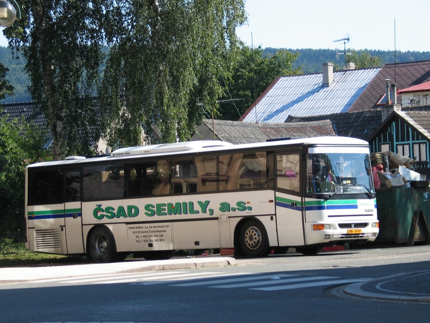 Karosa LC 936 v Lázních Bělohrad