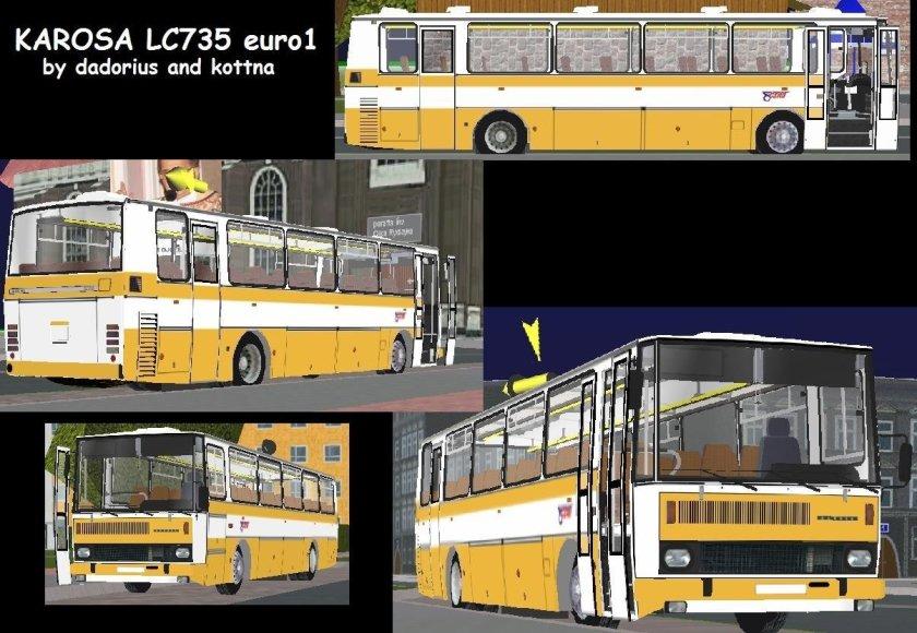 Karosa LC735 euro 1