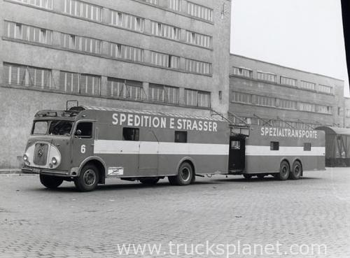 Mercedes-Benz - LP with Kässbohrer cabin (Commercial vehicles)