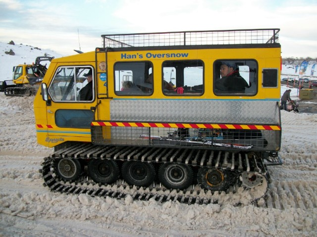 Snowmobile Perisher, Australia