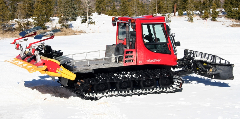 The compact PistenBully 100