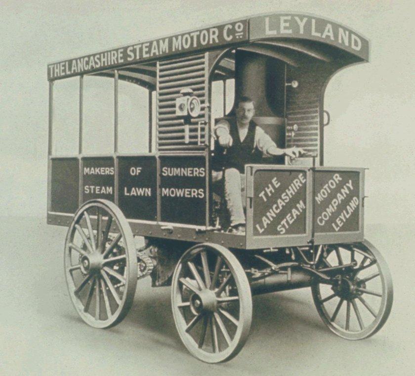 1908 LEYLAND VAPEUR