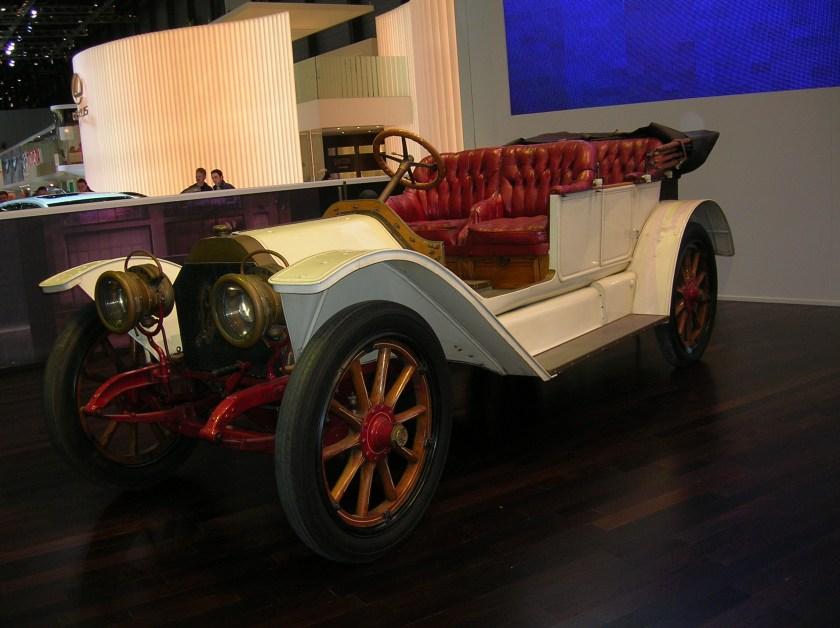 1909 Lancia Beta Torpedo 1520 HP
