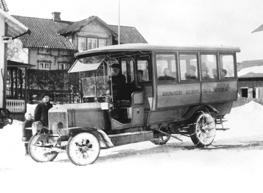 1911 SCANIA-VABIS BUS