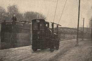 1912 tracteur Latil electr trolley