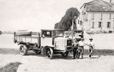 1914 Camion Latil Port Sainte Marie