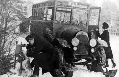 1919 Scania-Vabis postbus