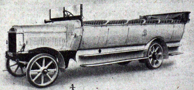 1920 Leyland 3640hp bus Charabanc