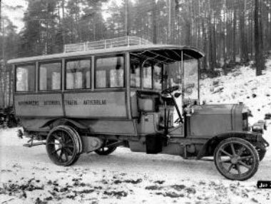 1920 Scania old timer
